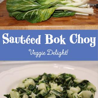 Sautéed Bok Choy