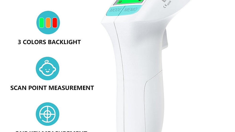 HeTaiDa Infrared Forehead Thermometers Baby Adult Household Non