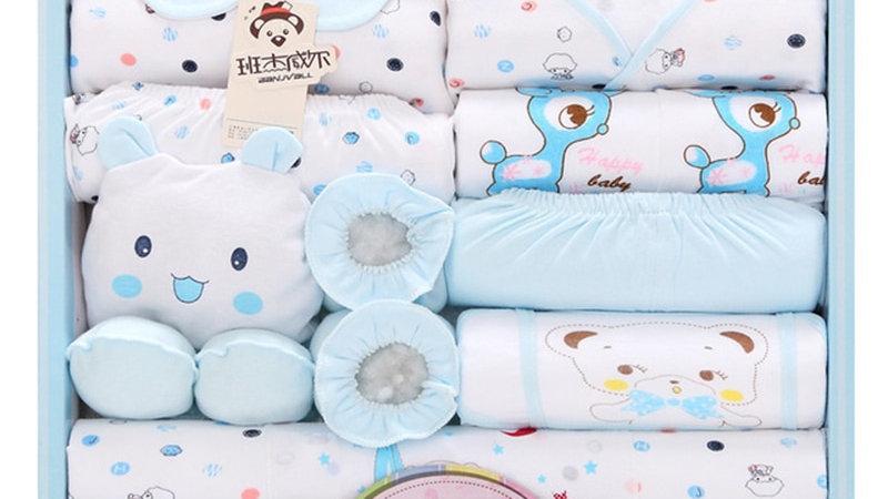 Newborn Baby Set 18pieces Clothes 100% Cotton
