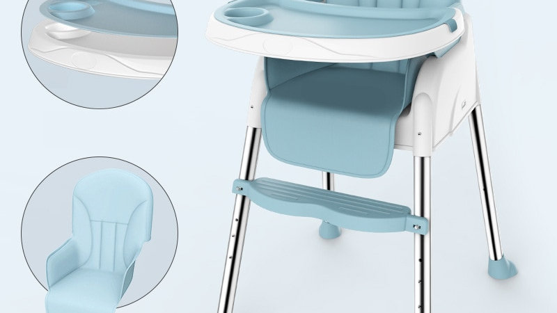2in1 Baby Dining Seat, High Chair and Portable Booster Seat Children Safety Seat