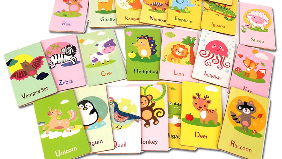 26 Letters Alphabet Cards Educational