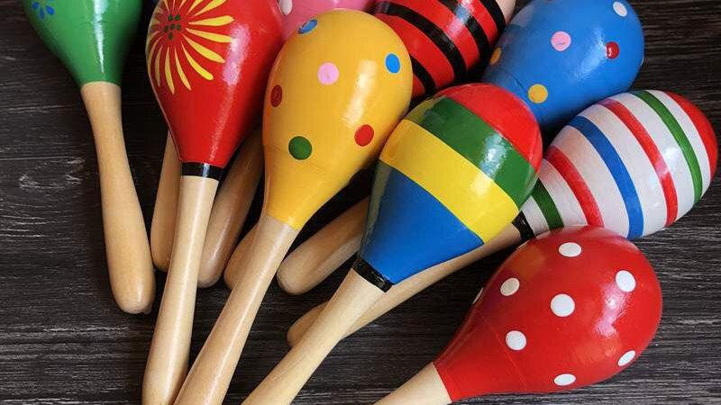 Maraca Rattles for Baby Musical Shaker Toys