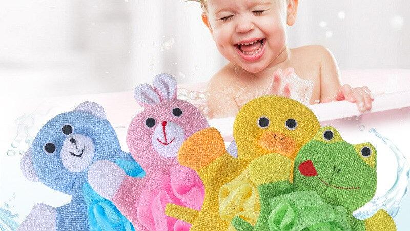 Baby Bath Animal Shape Shower Gloves