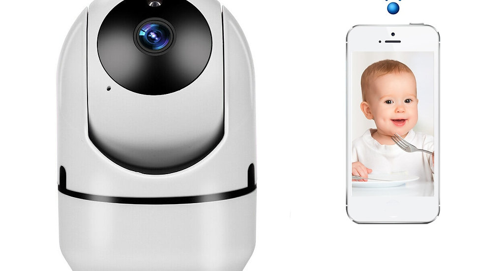 Mini Baby Monitor IP Camera Auto Tracking HD 1080p Indoor Home