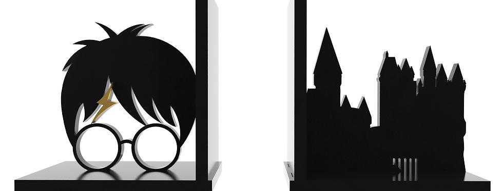 Aparador de Livro - Harry Potter - Hogwarts 30x15