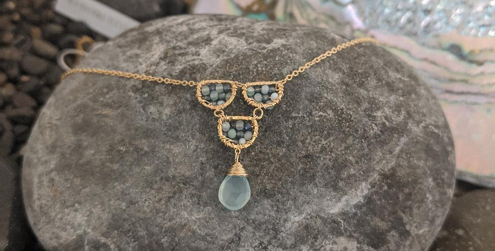 Australian Sapphire Necklace