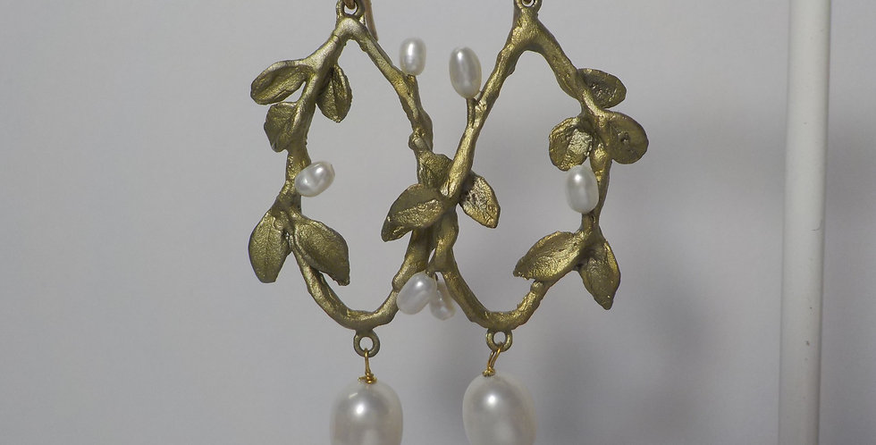 Round Vine  Earring Set