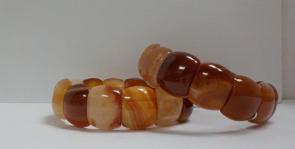 Carnelian Gemstone Bracelet
