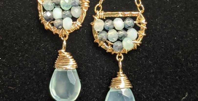 Australian Sapphire Earrings