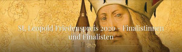 St. Leopold Peace Prize 2020