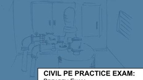 Civil PE Practice Exam: Breadth Exam Version A