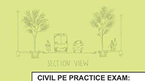 Civil PE Practice Exam: Transportation Depth Version A