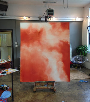 A Painting's Progress–how an abstract work unfolds