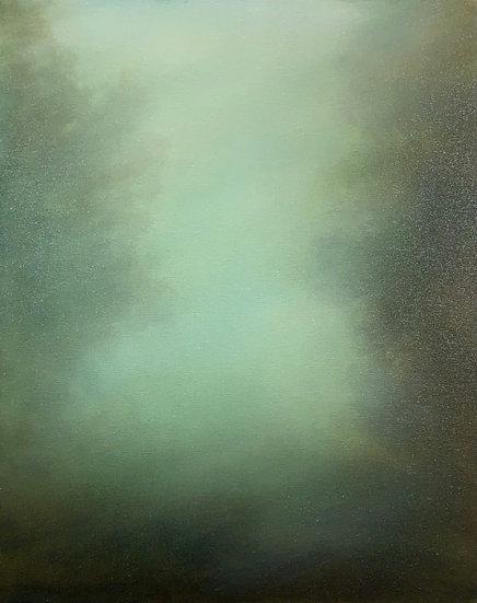 "hidden language of trees iii, 16x20"" oil on canvas, unframed"