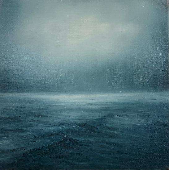seascape iv, 16x16' oil on linen, unframed