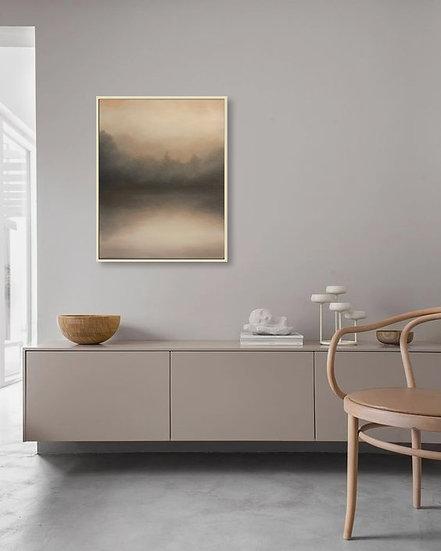 "brume, in blush ii, 24x30"" oil on canvas, unframed"