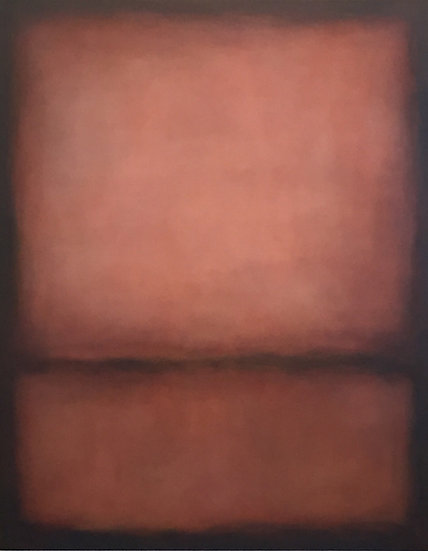 "rosso veneto, 48x60"" oil on canvas, unframed"