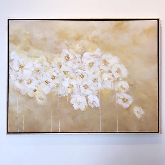 "'windflowers' 36x48"" oil on canvas, 2019, unframed"