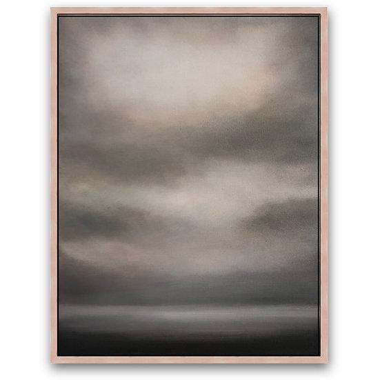 """'serene', 11x14"""", oil on canvas, framed"""