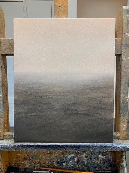 "blush sea mist, 16x20"" oil on canvas, unframed"