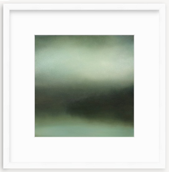 limited time framed print, week of 3/29 only, 'becoming calm'