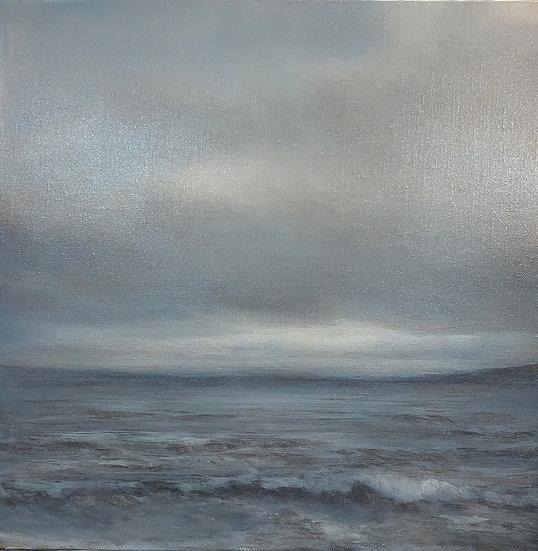 seascape ii, 16x16' oil on linen, unframed