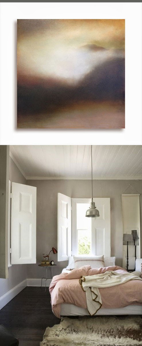 Pink and Blush Colored Paintings