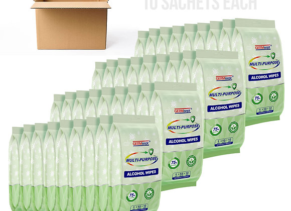 Hotel & Restaurant Use Disinfectant & Sanitizer Wipes Individual 360 Pack