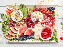 Celebrate July 4th with a Red, White, and Blue Appetizer Tray