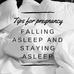 Improving your sleep in pregnancy