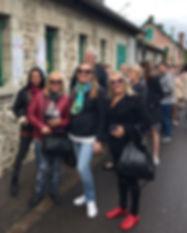 Hoje foi dia de passeio duplo em Giverny