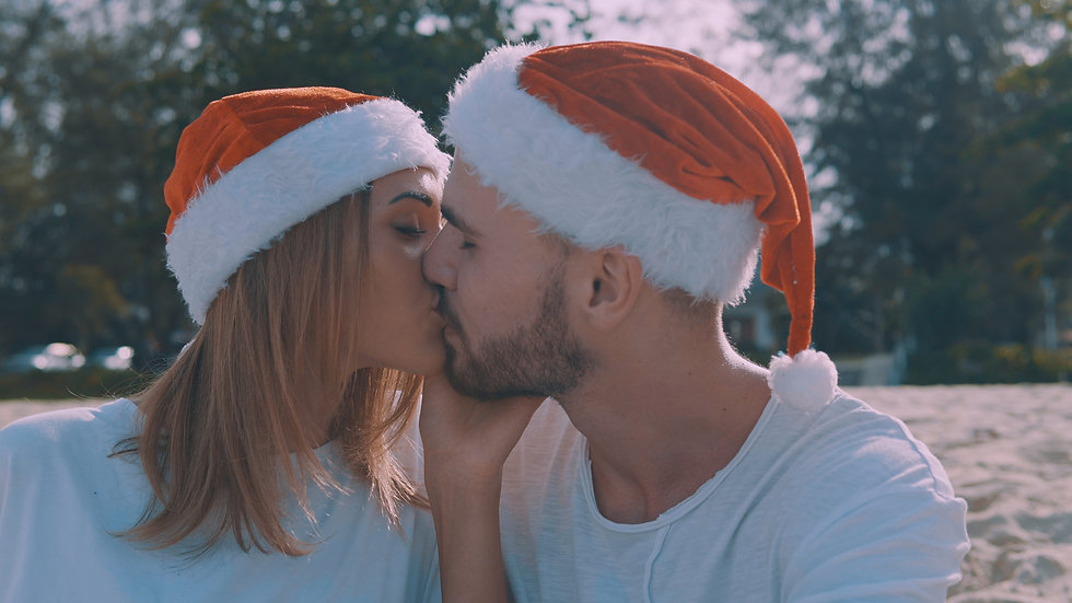 You Me & The Mistletoe ( Couples Package )