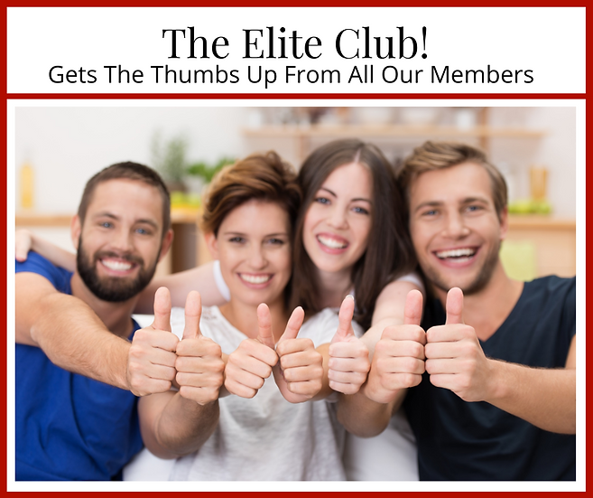 Elite Membership (monthly subscription) $59.80