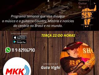 Estreia do Country Guitar BR Radio Show Hoje ! 04/02/20