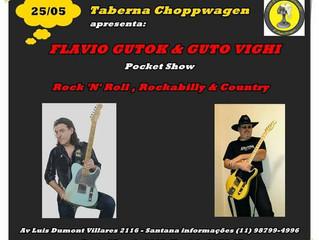 Show Gutok & Vighi sexta 25/05