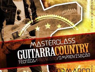 Workshop Guitarra Country Matheus Canteri em Jundiaí 03/10/18