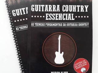 Lançamento de Livro: Guitarra Country Essencial - Marcio Alvez