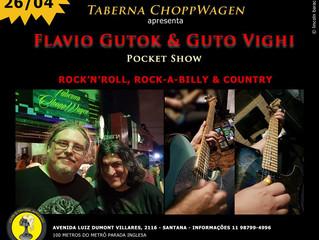 Show do duo Flavio Gutok e Guto Vighi