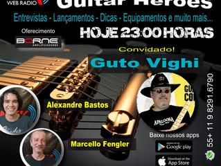 Guto Vighi no Programa Guitar Heroes