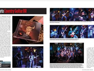 Cobertura Revista Guitar Player - Country Guitar Br