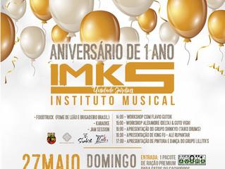 Aniversário do IMKS com Workshops