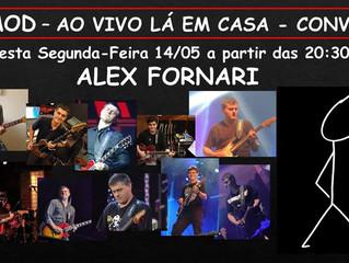 Alex Fornari - Ao Vivo La em Casa !
