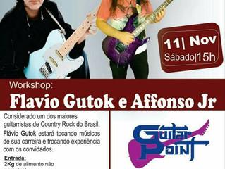 Workshop Beneficiente Flavio Gutok 11/11 Santo André !