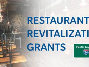 Restaurant Revitalization Grants