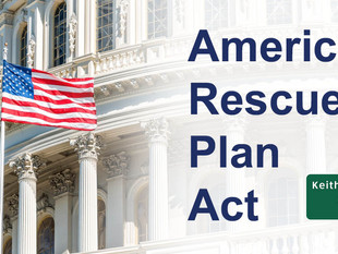 American Rescue Plan Act of 2021 –What We Know