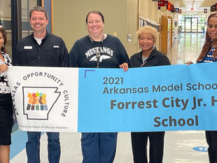Forrest City Junior High School, Lincoln Middle School Named Opportunity Culture Model Schools