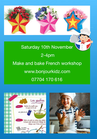 Make and bake - French workshop