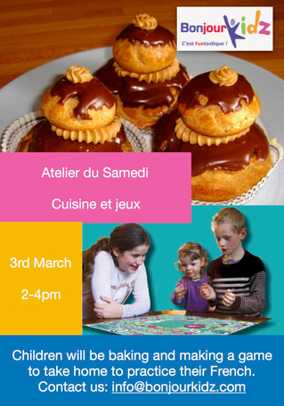 French workshop, 3rd March. Spring-Mother's day.