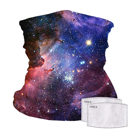 Gaiter with Filter Pocket, Space