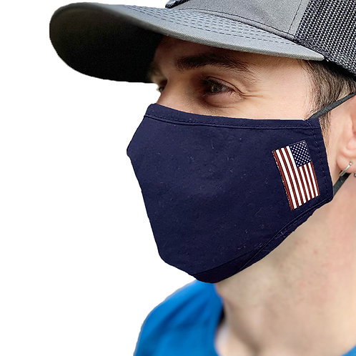 Four Layers Cloth Mask, Blue